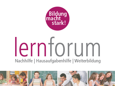 lernforum – Bildung macht stark!