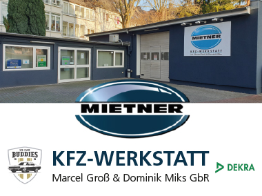 Mietner Kfz-Werkstatt · Marcel Groß & Dominik Miks GbR